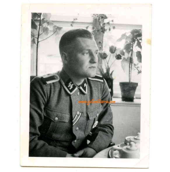 Private snapshot decorated SS-Unterschapführer