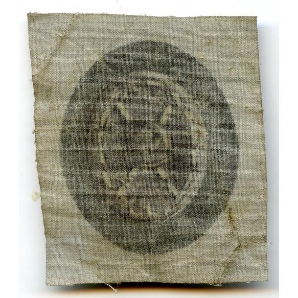 Wound Badge in Black, printed variant