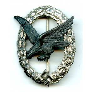 Luftwaffe airgunner badge by F.A. Assmann & Söhne