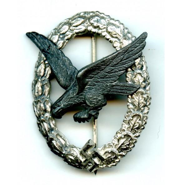 Luftwaffe airgunner badge by F.A. Assmann & Söhne