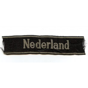 "SS cufftitle Dutch volunteers ""Nederland"" by Bevo"