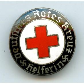 "DRK red cross memberships pin ""E.L.M."""