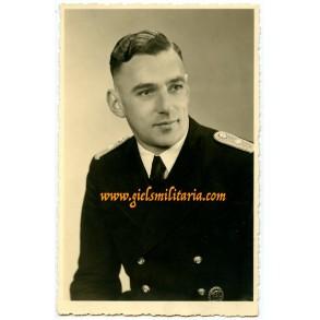 Portrait Kriegsmarine water police officer