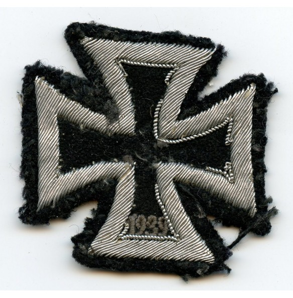 Iron Cross 1st class, cloth/bullion variant