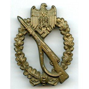 "Infantry Assault Badge in bronze by F.Linden ""FLL"""