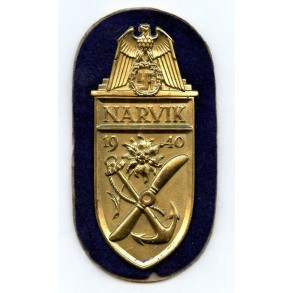 Narvik shield for navy troops