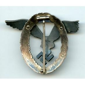 """Luftwaffe pilot badge by Berg & Nolte """"B&NL"""""""