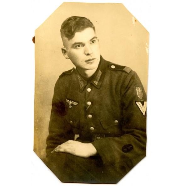 Portrait photo krim shield in wear