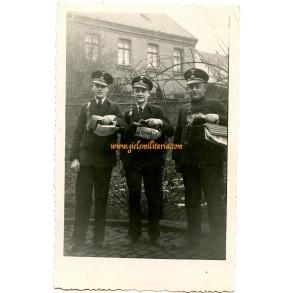 Private snapshot Third Reich post men