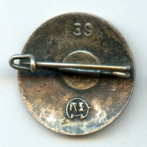 """Party pin by Robert Beck """"39"""""""