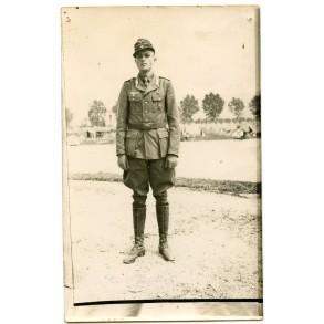 "Portrait photo decorated ""Afrikakorps"" officer"