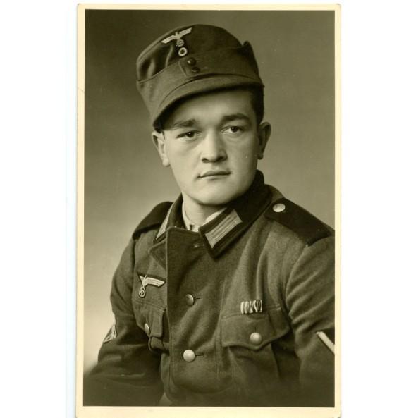 Portrait GJ mountain trooper Willi Tröger 9.5.1940