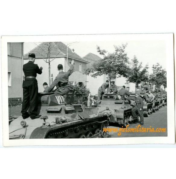 Private photo NSKK panzer driving school