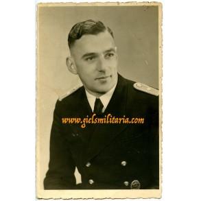Portrait Kriegsmarine water police officer 1943