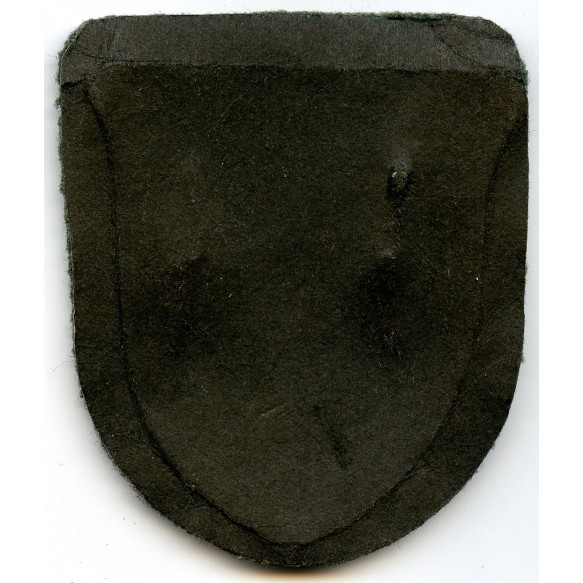 Krim shield for army troops, unknown maker