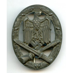 "General assault badge by F.A. Assmann & Söhne ""A"""