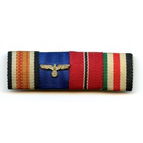 4 place EK2 ribbon bar, Afrika campaign medal