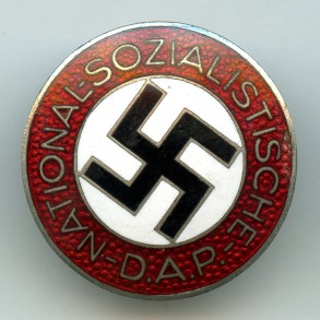 "Party pin by Fritz Zimmermann ""M1/72"", lapel pin"