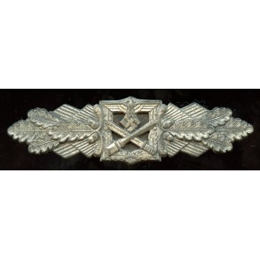 """Close combat clasp in silver by Funke & Brünninghaus """"F&BL"""""""