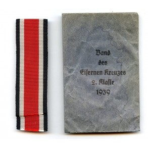 Package for ribbon to the iron cross 2nd class by C. Knoblauch