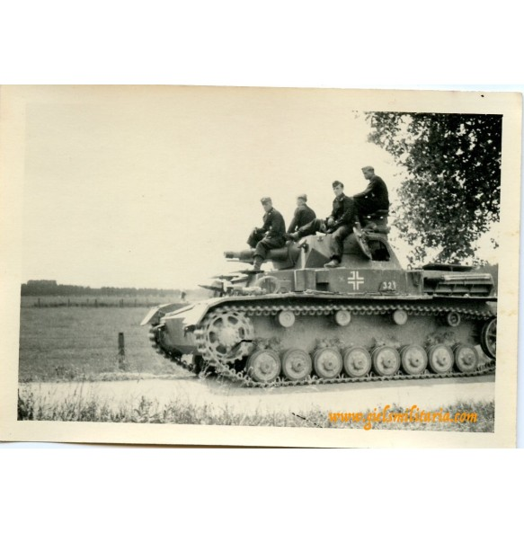 Private snapshot Panzer IV, France 1940
