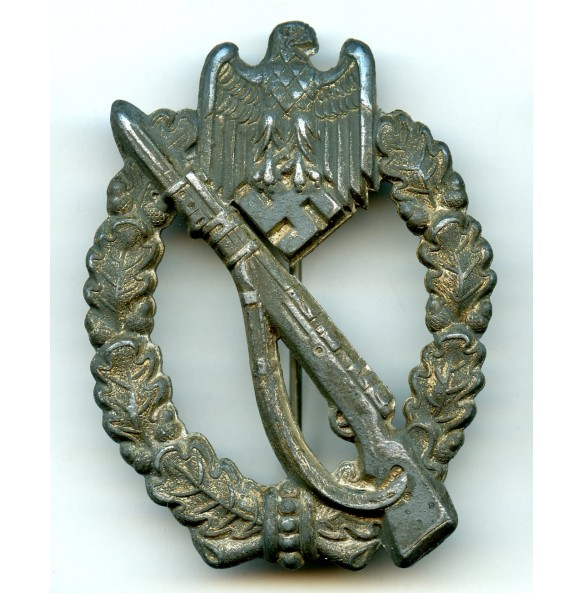 """Infantry assault badge in silver """"small H"""""""