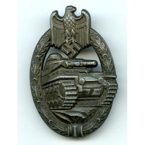 """Panzer assault badge in bronze """"Daisy"""""""