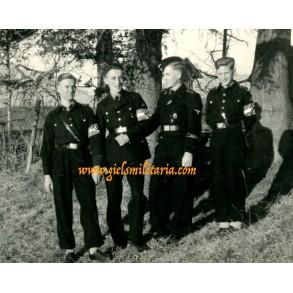 "Private snapshot HJ ""AHS Frankfurt am Main"" and SS Panzer ""Der Führer"" boys"