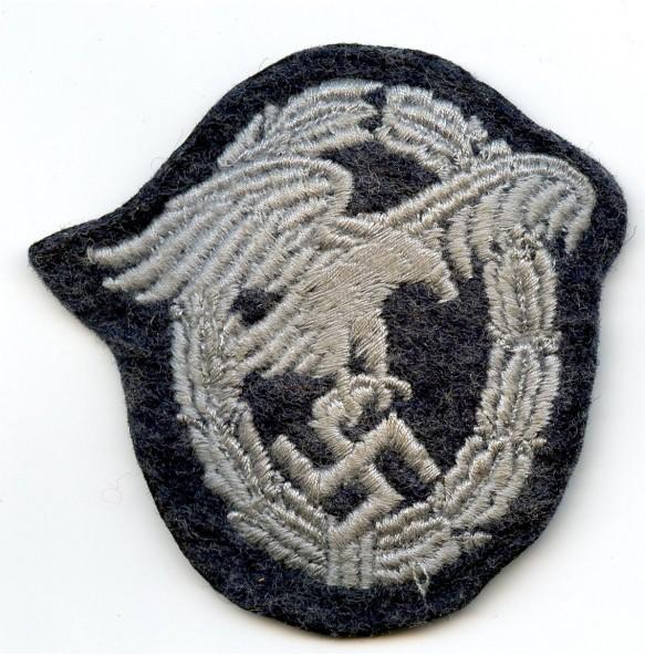 Luftwaffe observer badge in cloth