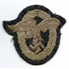 Luftwaffe obvserver badge in cloth.