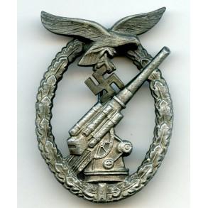 Luftwaffe flak badge by W. Deumer