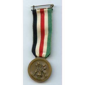 Italian-German Afrikca Medal by Lorioli