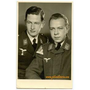 Portrait photo Luftwaffe music meister 1940