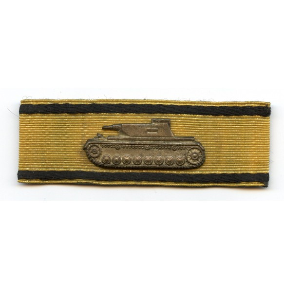 Tank destruction badge in gold