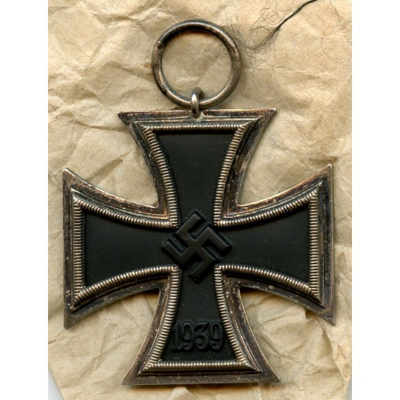 Iron cross 2nd class by Klein & Quenzer A.G + package