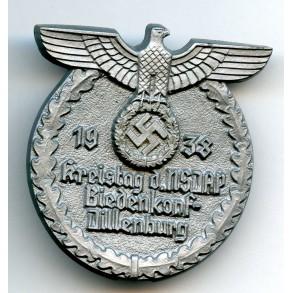 Tinnie NSDAP Kreistag Biedenkopf-Dillenburg 1938 by R. Sieper & Söhne