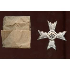 War Merit Cross 1st class w/o swords by Deschler & Sohn + wrapping paper