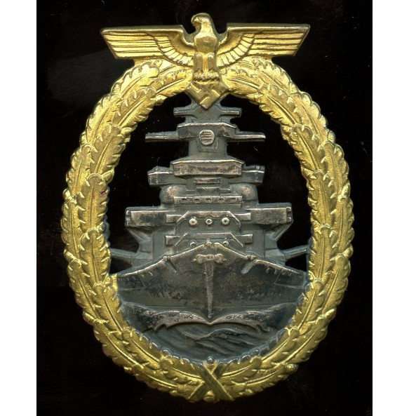 Kriegsmarine High Seas Fleet badge by Schwerin