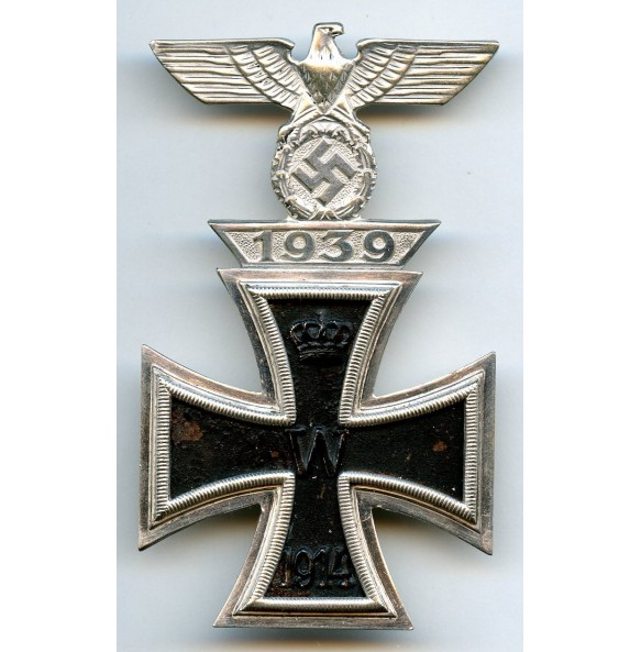 "Iron cross 1st class combination clasp by B.H. Mayer ""L/18"""