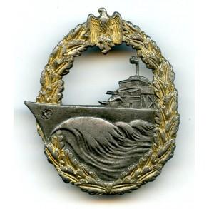 Kriegsmarine destroyer badge by SchuCo