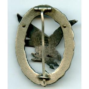 Luftwaffe Radio Operator / Airgunner badge by C.E. Juncker