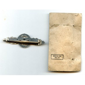 Luftwaffe flight clasp for transporters by F. Orth + package