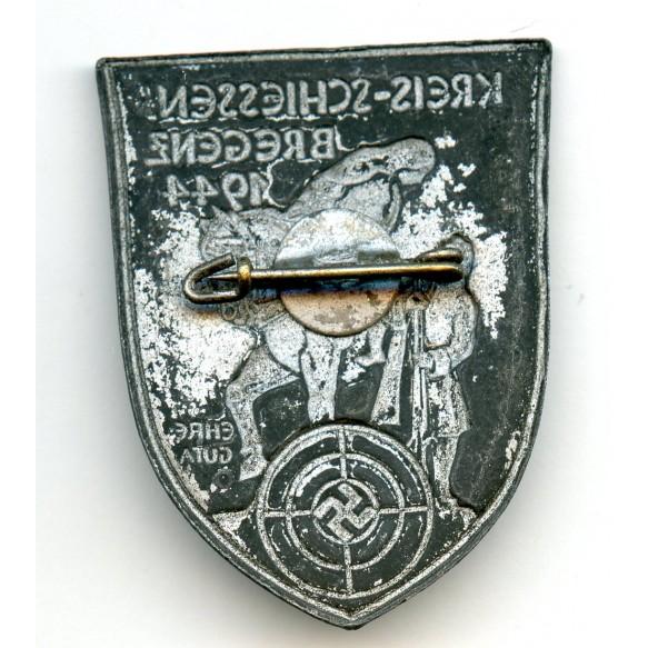 Shooting badge Bregenz 1944