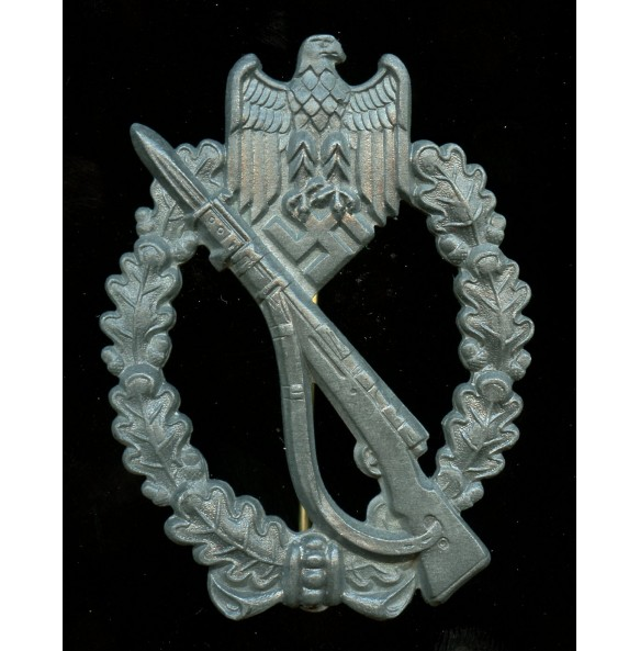 Infantry assault badge in silver by F. Linden