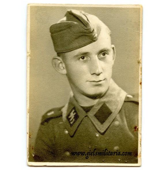 """SS Soldbuch protrait SS-VT 3. SS-Standarte """"Der Führer"""""""