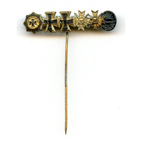1957 German cross 9mm miniature bar