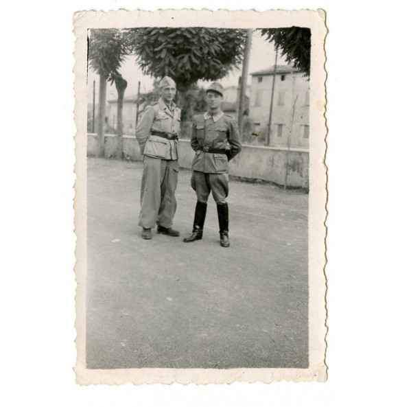 Privat snapshot Italy 1944 in Vignola near Bologna