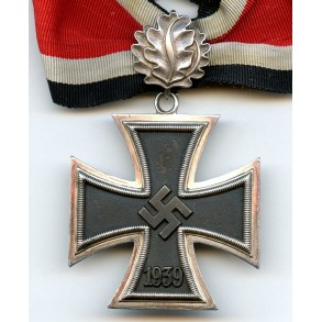 "Knights Cross of the iron cross by S&L ""800"" + oaks leafs by Gebr. Godet ""21"""