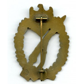 "Infantry assault badge in bronze E.F. Wiedmann ""ÜÜ"""