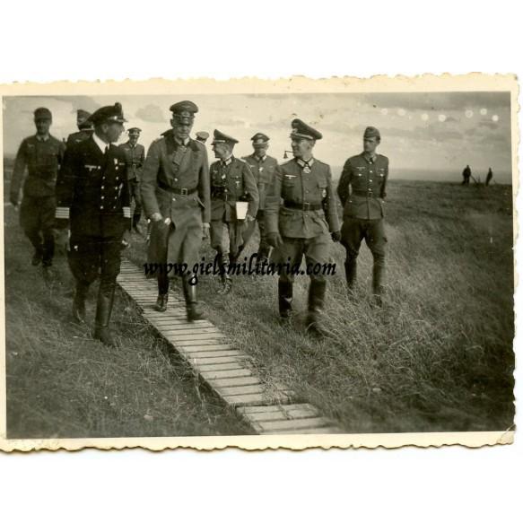Private snapshot Gerd Von Rundstedt Inspection Atlantikwall, France 1943